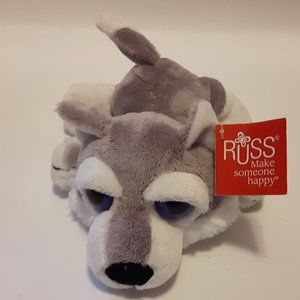 RUSS Timber the Wolf Plushie NWT
